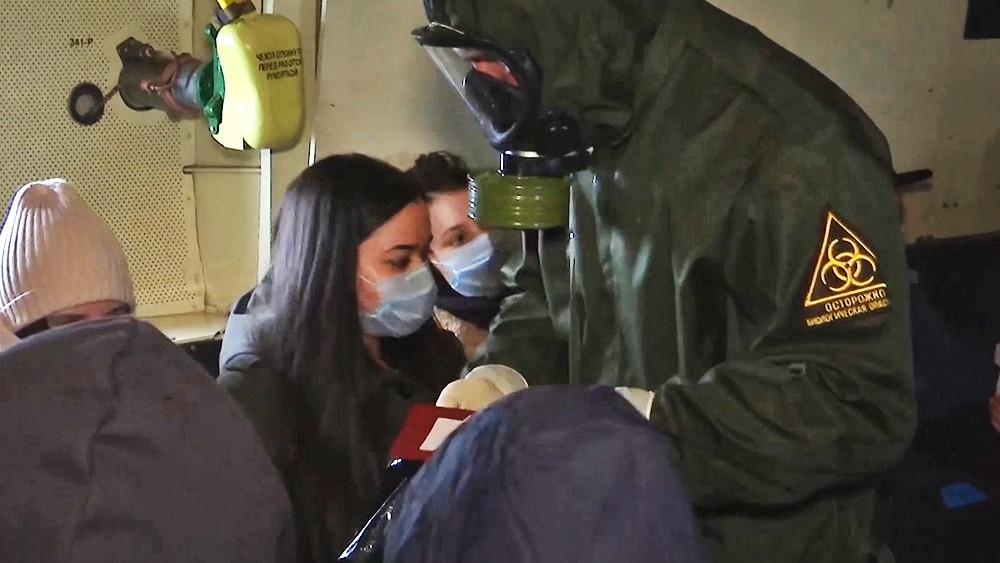 Эвакуация россиян из Китая самолетом ВКС России
