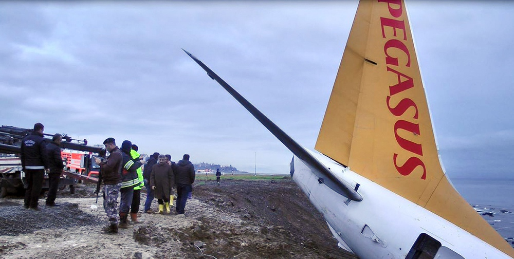 Самолёт авиакомпании Pegasus Airlines