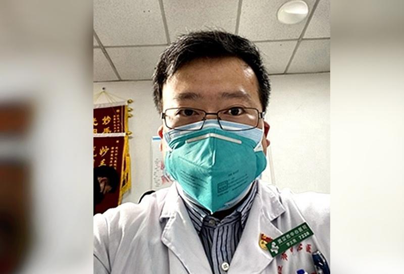 Китайский врач Ли Вэньлян, обнаруживший коронавирус
