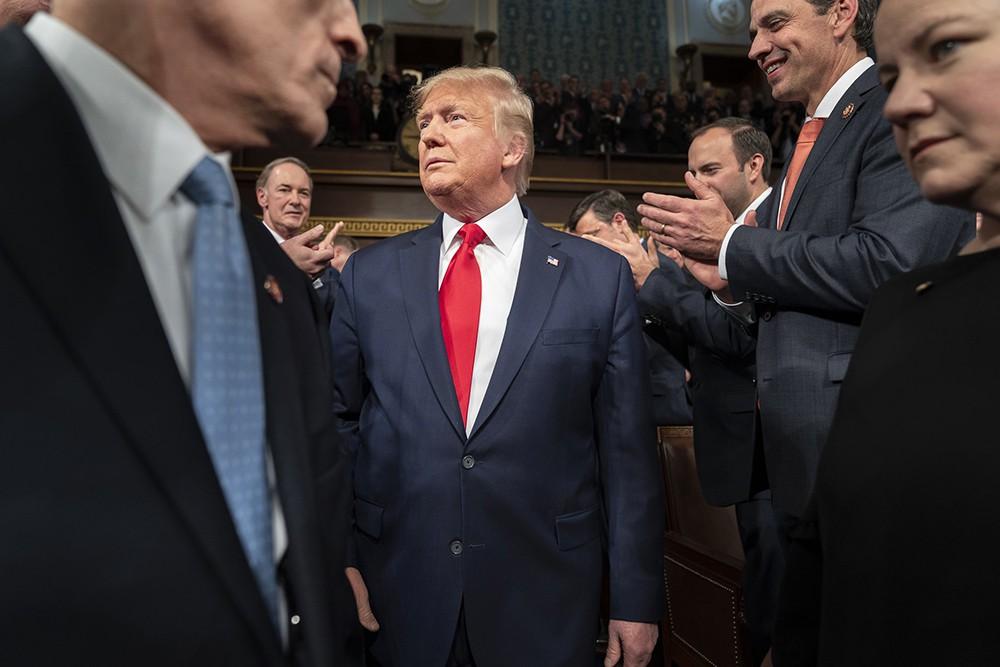 Дональд Трамп и сторонники