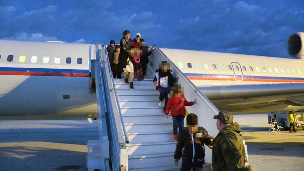 Эвакуация российских детей из Сирии