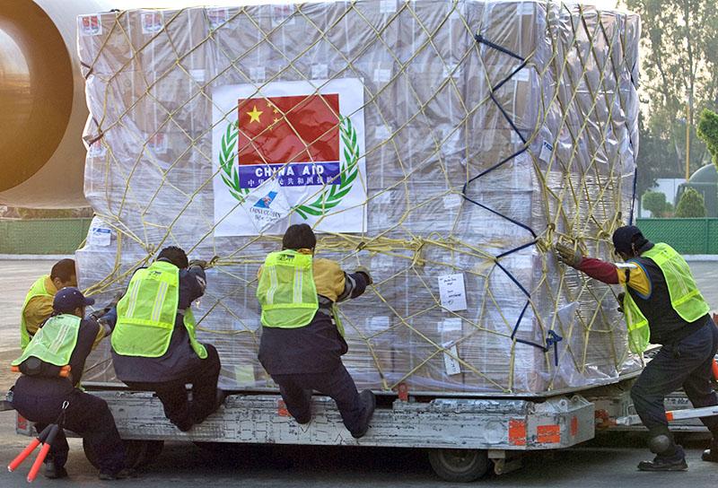 Гуманитарная помощь в Китае