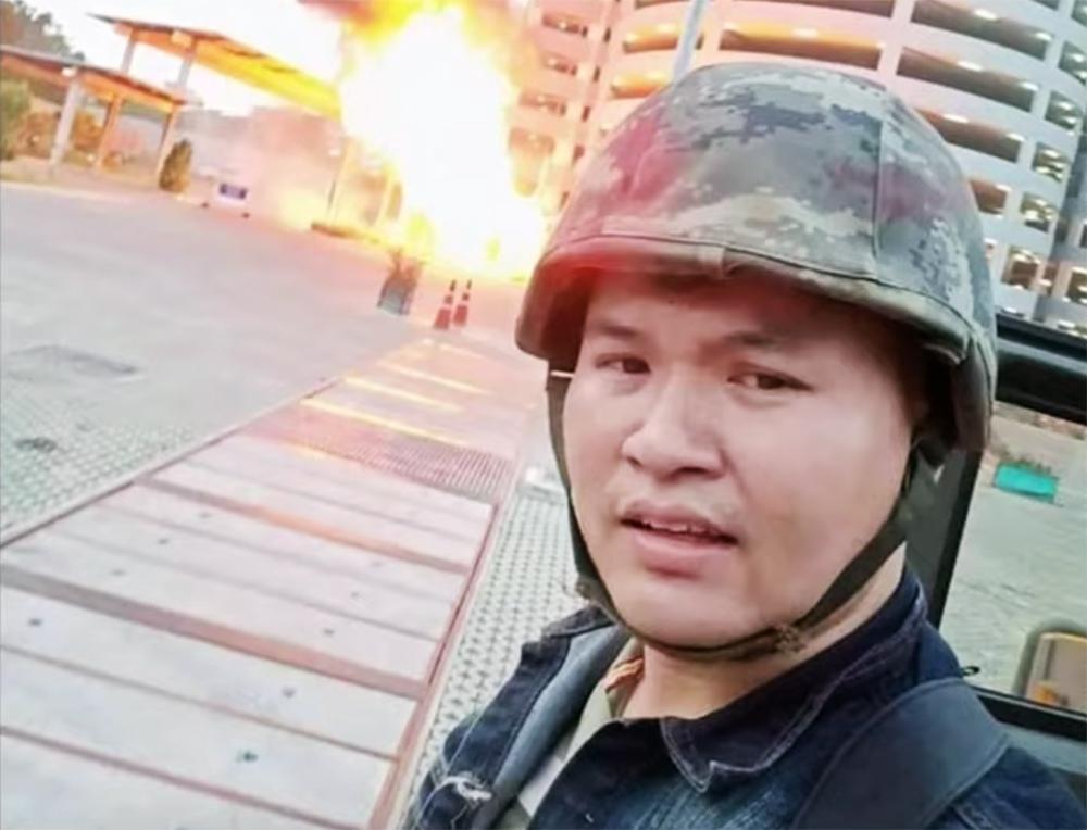Устроивший стрельбу в городе Корат в Таиланде