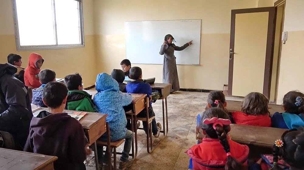 Школа в Сирии