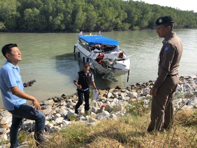 Последствия столкновения в Таиланде