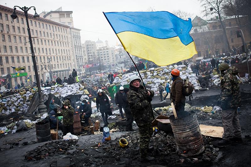 Протесты на Украине. 2014 год