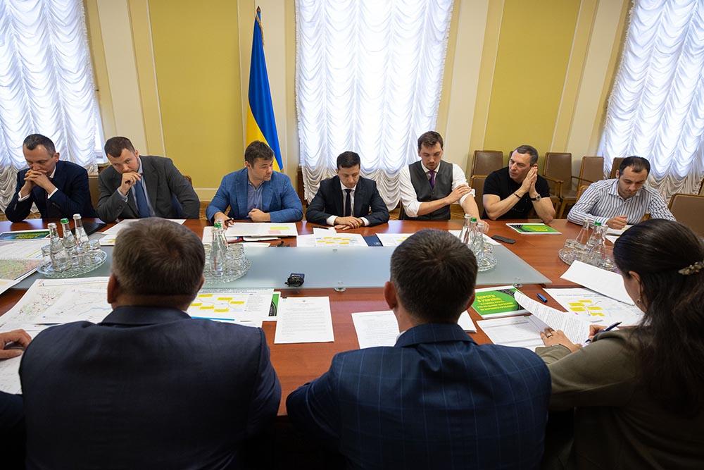 Владимир Зеленский проводит заседание