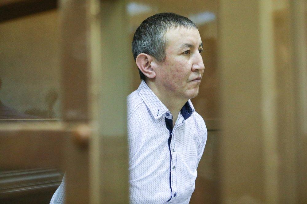 Оглашение в Мосгорсуде приговора Нурлану Муратову