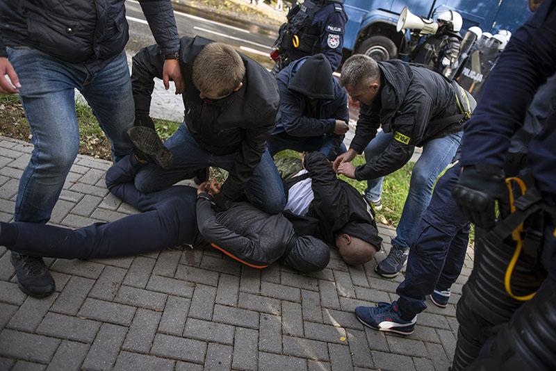 В Польше группу приезжих избили за русскую речь