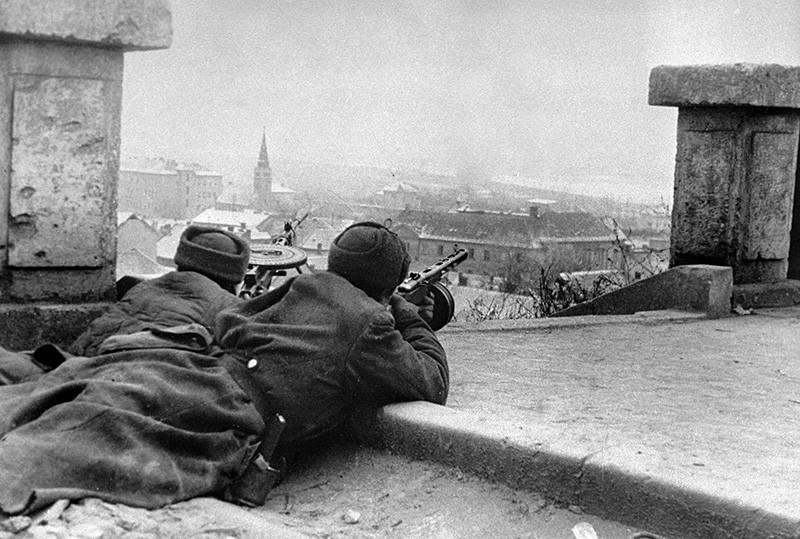 Освобождение Венгрии от немецко-фашистских захватчиков