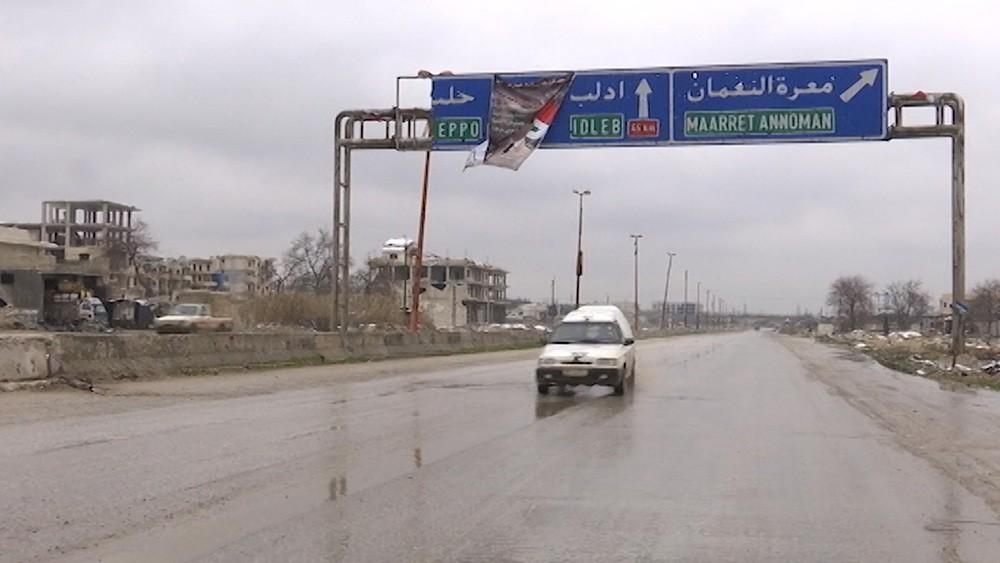Трасса Алеппо - Дамаск