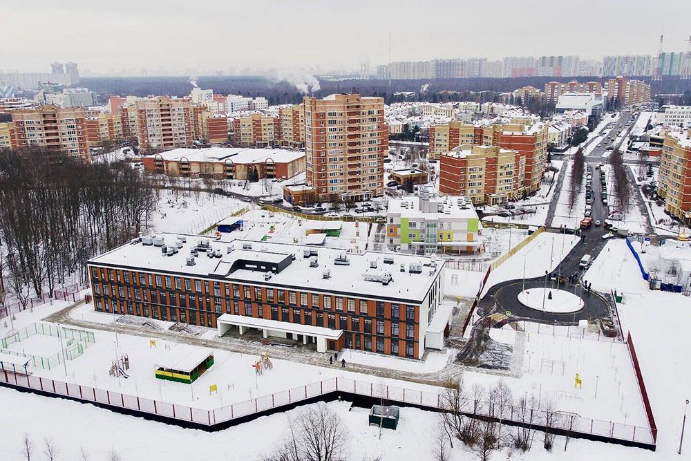 Комплексное благоустройство московского района Куркино