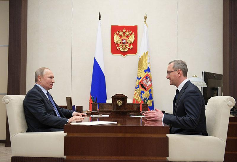 Владимир Путин и Владислав Шапша