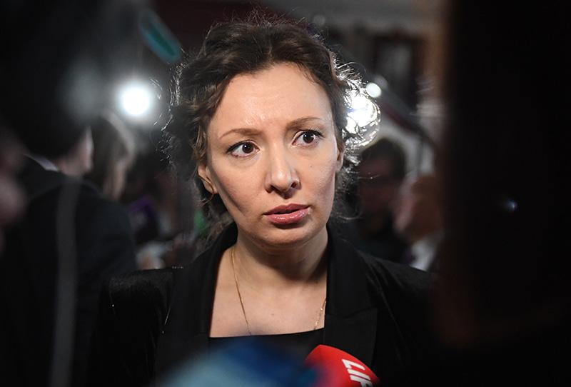 Уполномоченнный при президенте Российской Федерации по правам ребенка Анна Кузнецова