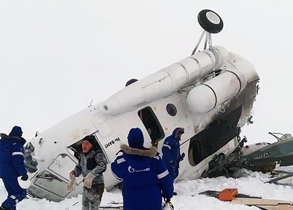 Крушение Ми-8 на Ямале