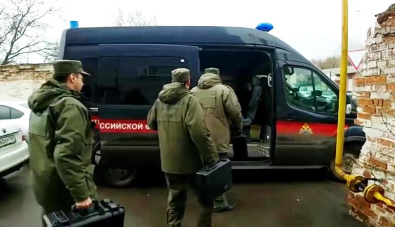 Сотрудники СК России