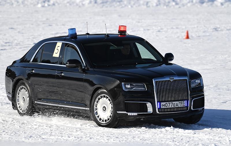 Соревнования сотрудников Гаража особого назначения ФСО России
