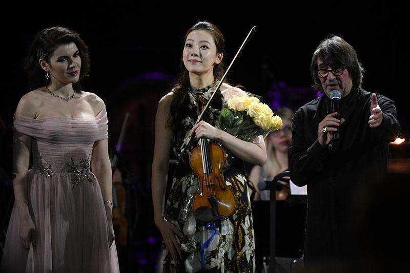 Гала-концерт открытия XIII Зимнего международного фестиваля искусств Юрия Башмета