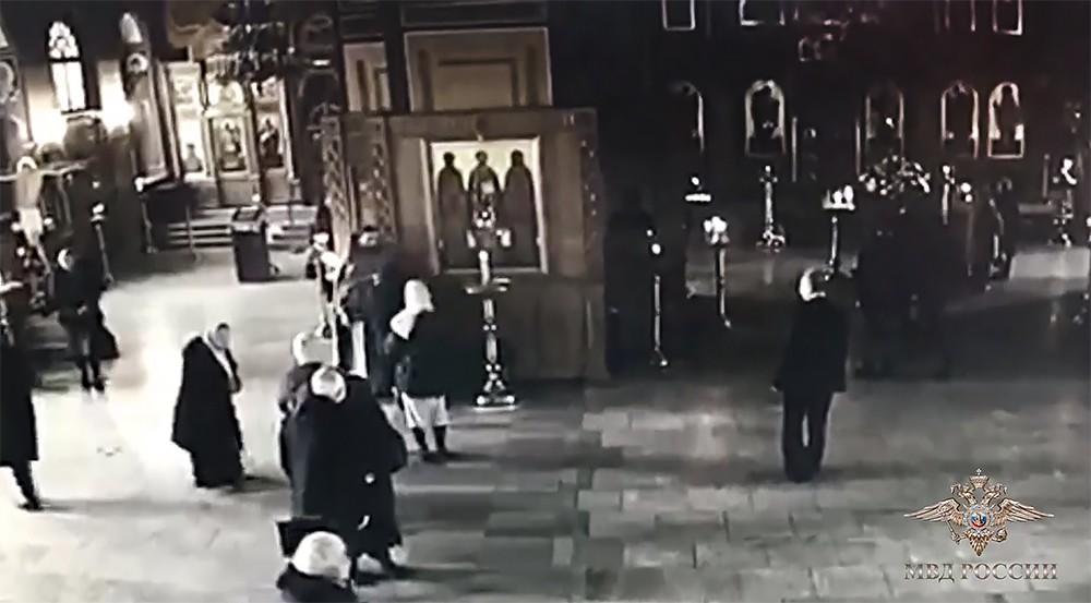 Нападение на Храм Николая Чудотворца в Покровском в Москве