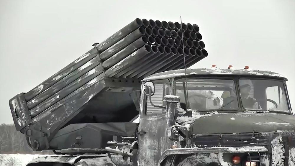 """Реактивная система залпового огня (РСЗО)  """"Град"""""""