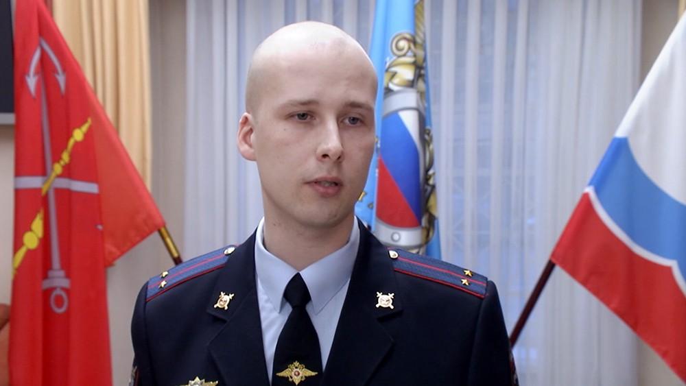 22 В Петербурге наградили полицейского, который спас мужчину из-подо льда