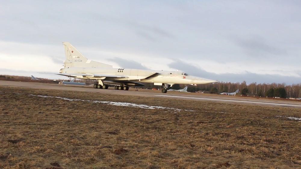 Бомбардировщики Ту-22МЗ