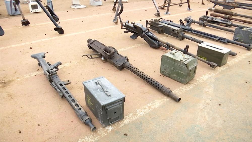 Склады боеприпасов в Сирии