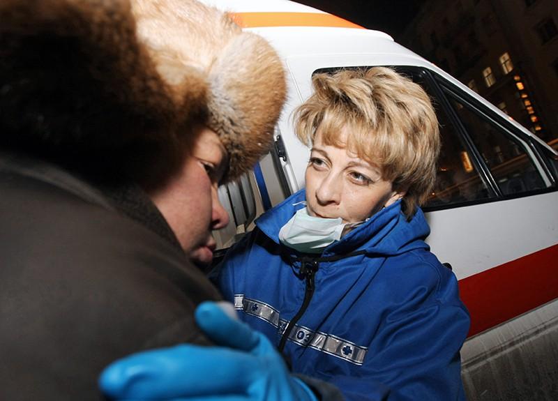 Доктор Елизавета Глинка оказывает помощь бездомным людям