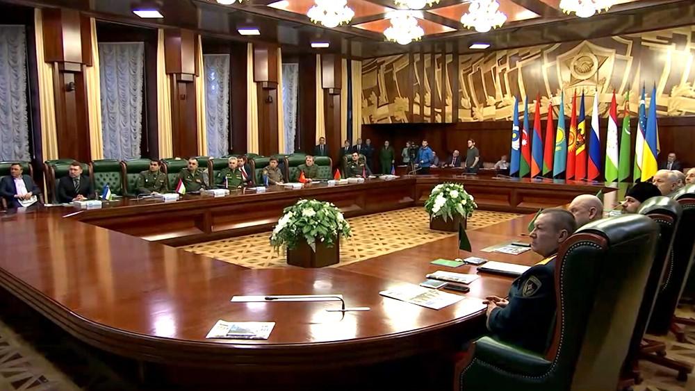 Заседание ведущих российских и международных ветеранских организаций