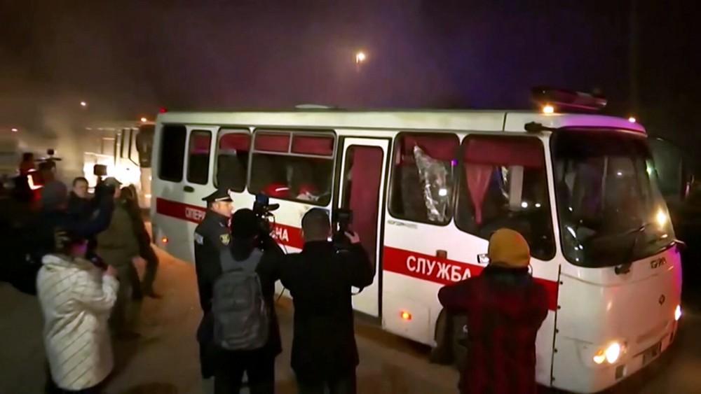 Беспорядки на Украине из-за коронавируса