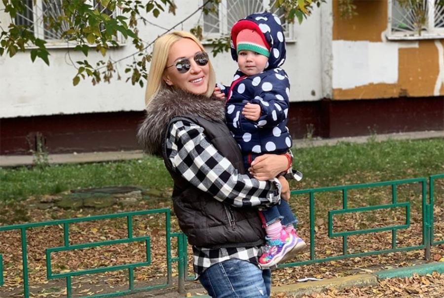 Лера Кудрявцева с дочерью Марией