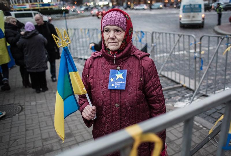 Украинская пенсионерка