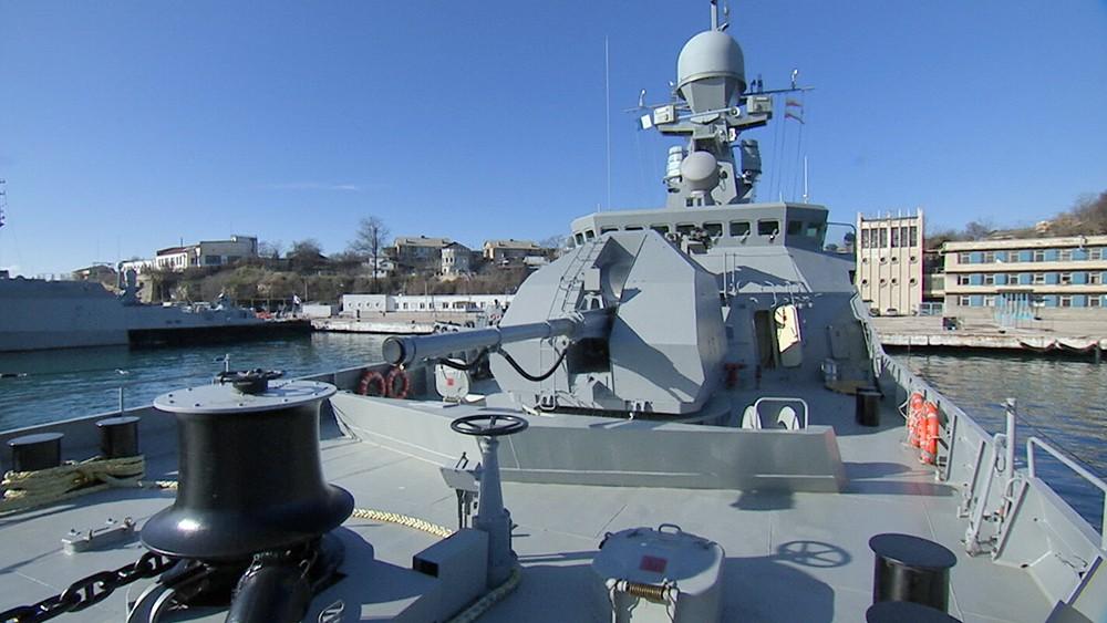 Малый ракетный корабль ВМФ России