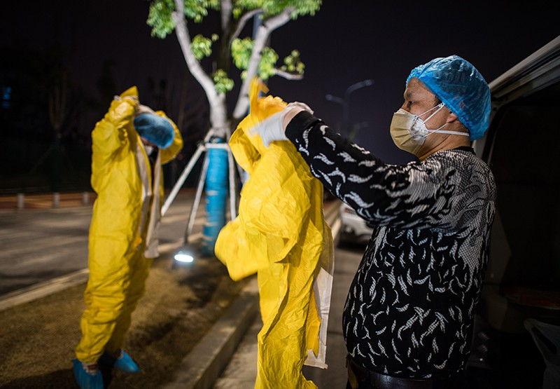 Вирус в Китае