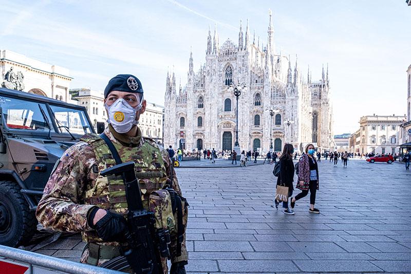 Вспышка коронавируса в Италии