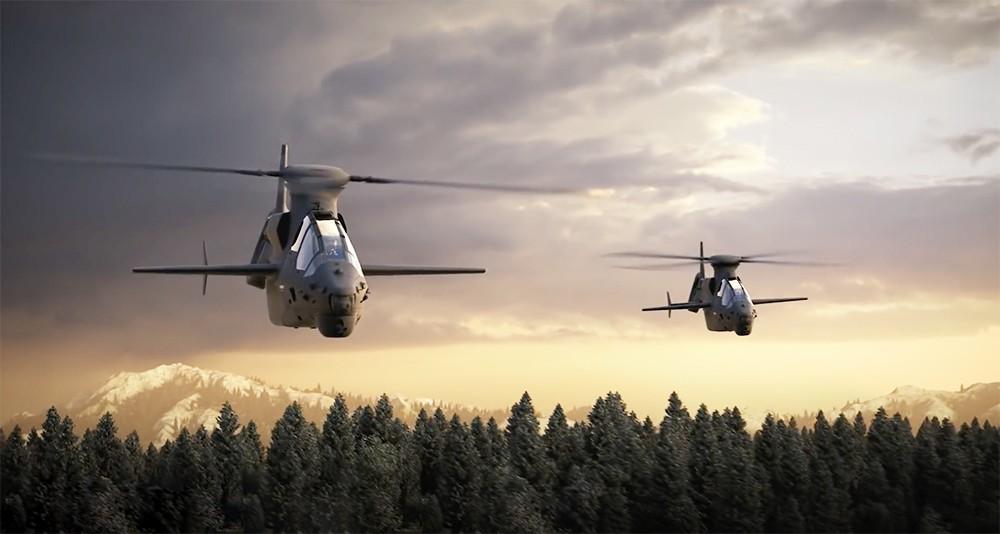 Реклама американских вертолетов