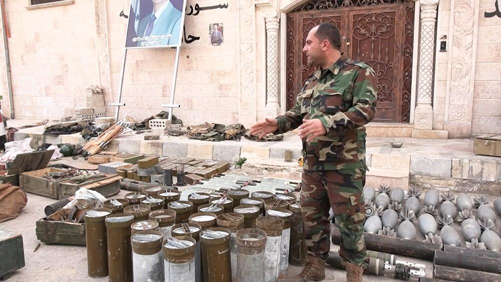 Секретная лаборатория в Сирии