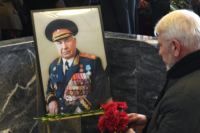 Прощание с Дмитрием Язовым