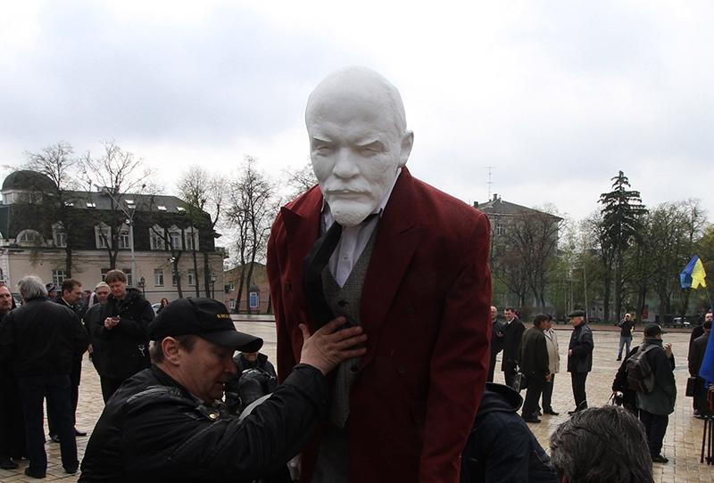 Украинцы продали памятник Ленину за 15 тысяч долларов