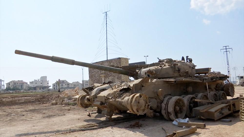 База боевиков в Сирии