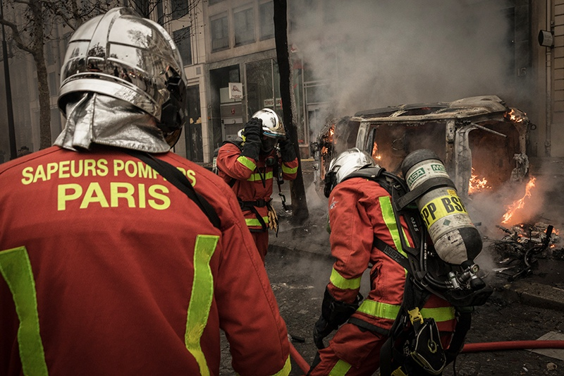 Лионский вокзал в Париже эвакуирован из-за пожара