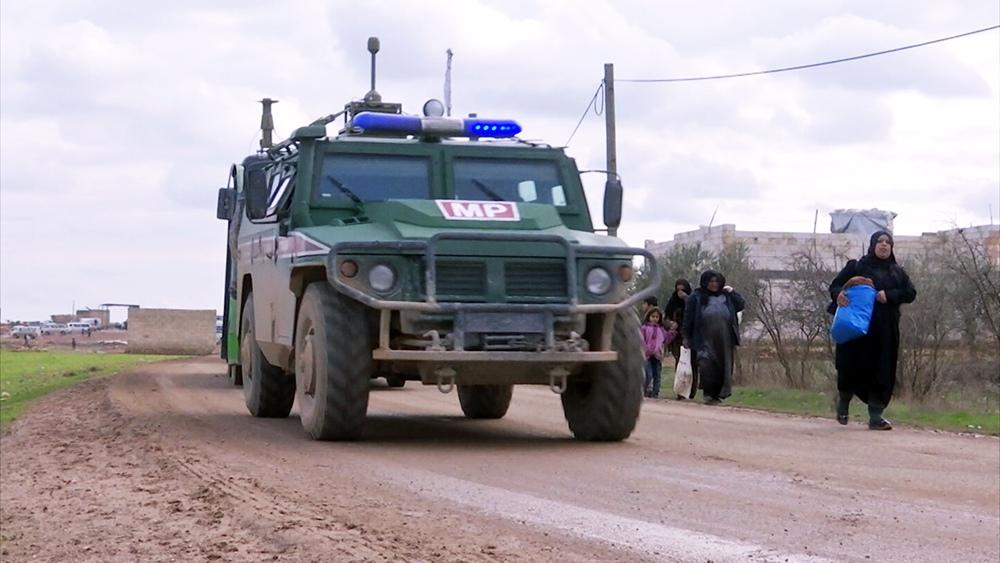 Военная полиция (MP) России в Сирии