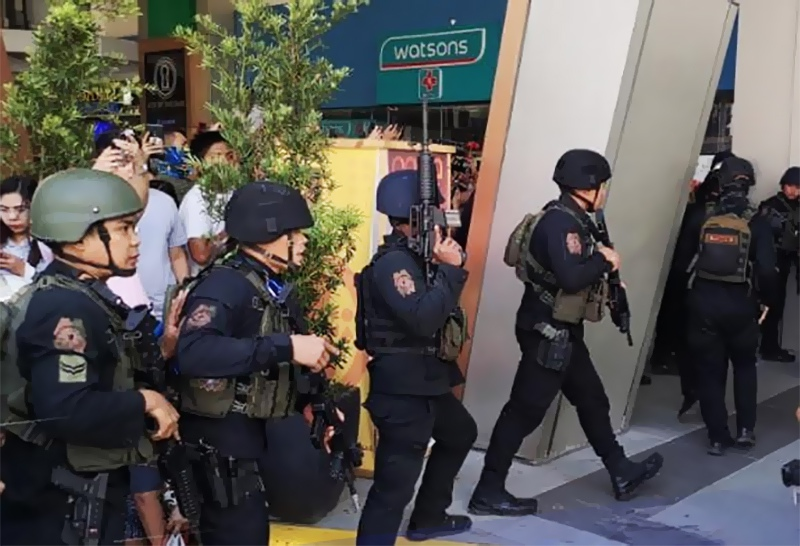 Спецназ полиции Филиппин