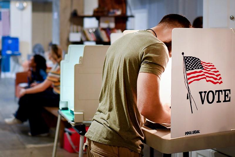 Избиратели в США