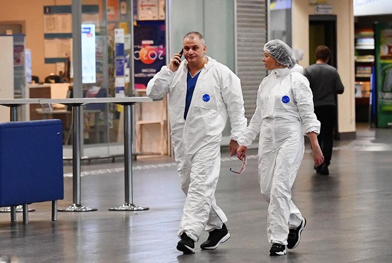 Сотрудники международного аэропорта Шереметьево