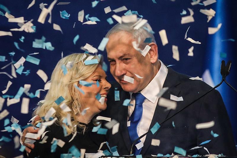 Партия Нетаньяху лидирует на выборах в Израиле