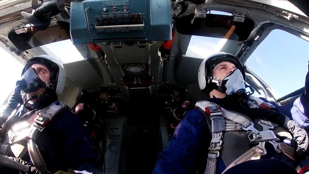 Экипаж Ту-160