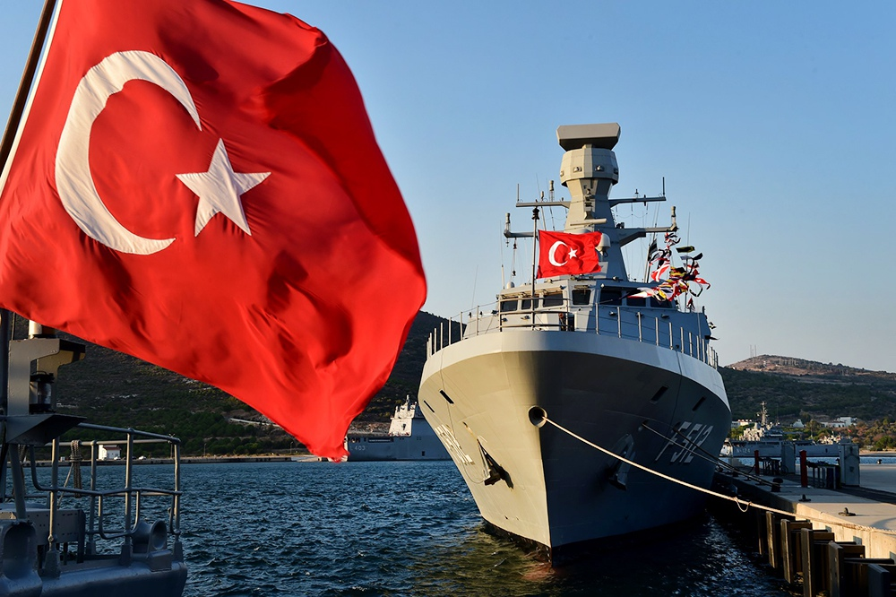 Корабли ВМС Турции