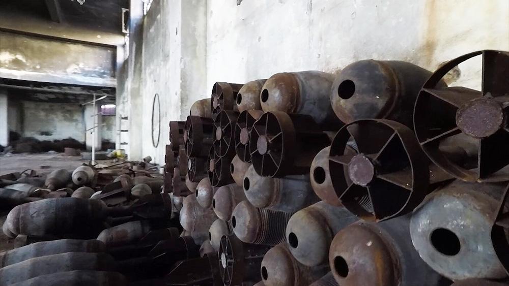 Оружие боевиков, обнаруженное в Сирии