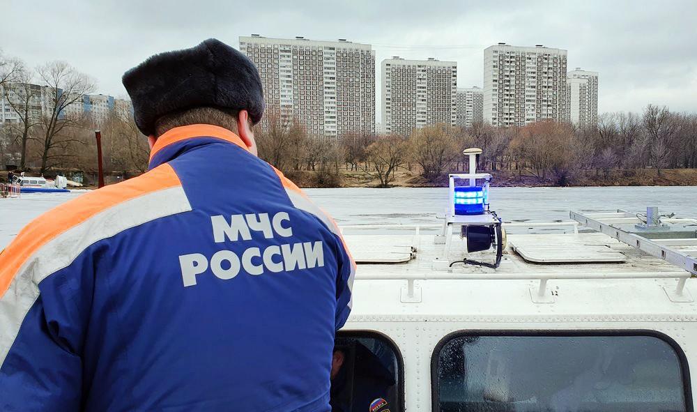 Поисково-спасательный отряд МЧС на воде